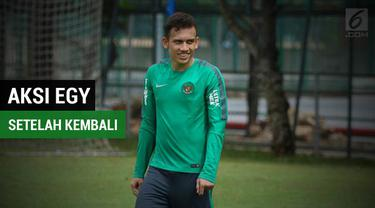 Berita video Egy tetap memperlihatkan komitmen untuk Timnas Indonesia. Dia hadir dalam pemusatan latihan Timnas U-23 yang digelar di Lapangan ABC Senayan, Jakarta, Sabtu (17/3/2018).