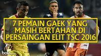 7 Pemain Gaek yang Masih Bertahan di Persaingan Elite TSC 2016 (Bola.com/Adreanus Titus)