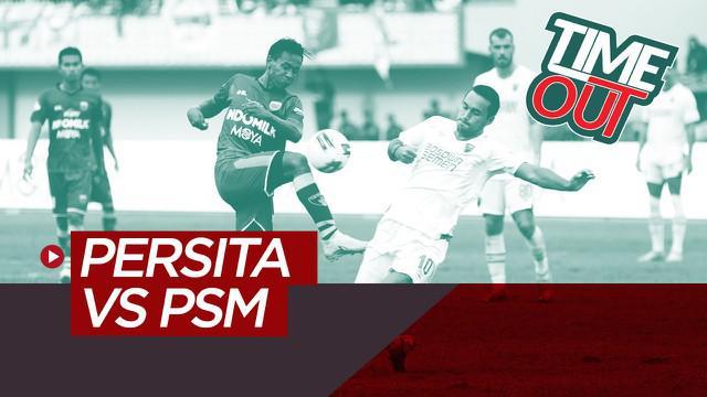 Berita video Time Out Shopee Liga 1 2020 kali ini membahas pertandingan tim promosi, Persita Tangerang, dapat menahan imbang PSM Makassar dengan skor 1-1 pada pekan kedua.