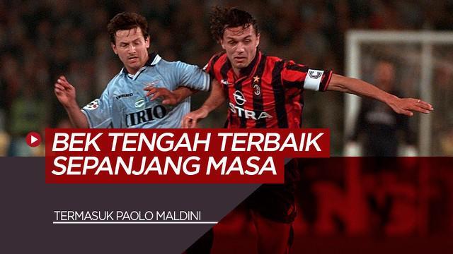 Berita Video Termasuk Mantan Pemain AC Milan, Paolo Maldini, Berikut 5 Bek Tengah Terbaik Sepanjang Masa