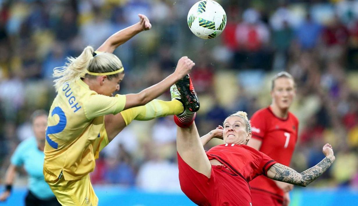 Putri Jerman Raih Emas Sepak Bola Olimpiade Rio 2016 ...
