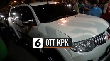 KPK melakukann penyegelan terhadap ruang kerja Bupati Lampung Utara setelah menangkapnya alam sebuah OTT.