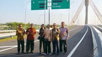 Jalan Tol Solo-Ngawi segmen Kartasura-Sragen telah resmi beroperasi mulai hari ini. (Foto: Kementeriaan BUMN)