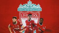 Liverpool - Nathaniel Phillips, Ozan Kabak, Georginio Wijnaldum (Bola.com/Adreanus Titus)