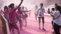 Color Run 2019 di GBK Jakarta (Foto: Liputan6.com/Selma Vandika)