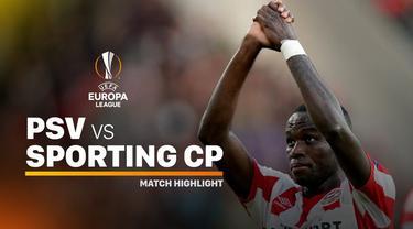 Berita video highlights Liga Europa 2019-2020 antara PSV melawan Sporting CP yang berakhir dengan skor 3-2, Kamis (19/9/2019).
