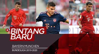 Berita video para bintang baru Bayern Munchen yang memiliki misi meraih gelar juara Bundesliga 8 musim beruntun.