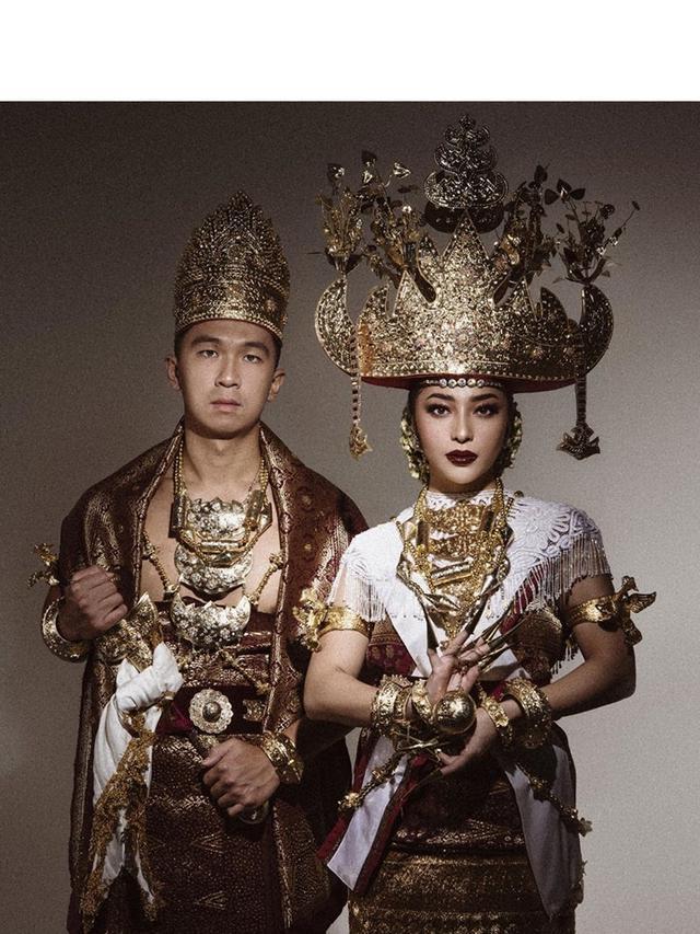 Kembali Jalani Prewedding Nikita Willy Kenakan Pakaian Adat Lampung Showbiz Liputan6 Com