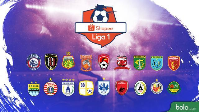 Shopee Liga 1 2019 Logo Klub