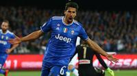 Cedera berkepanjangan membuat Khedira terdepak dari skuad Real Madrid. Sami Khedira yang didatangkan Juventus tanpa mahar mempu memenangkan banyak gelar domestik bagi si Nyonya Tua (AFP/Carlo Hermann)