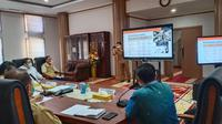 Pemerintah Provinsi Sumatera Barat melakukan rapat koordinasi mengenai perpanjangan PSBB di daerah itu.