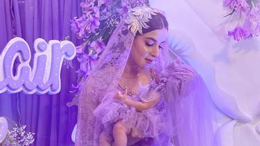 [Fimela] Tasya Farasya Akikah Anak