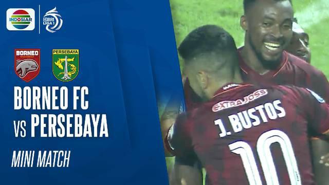Berita Video, Beragam Peluang yang Tercipta dalam Laga Borneo FC Vs Persebaya Surabaya di BRI Liga 1