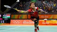 Tontowi Ahmad adalah pemain bulu tangkis asal Indonesia. Bersama Lilyana Natzir di Olimpiade Rio 2016, mereka mendapatkan medali emas.