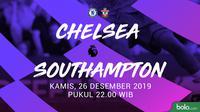 Premier League - Chelsea Vs Southampton (Bola.com/Adreanus Titus)