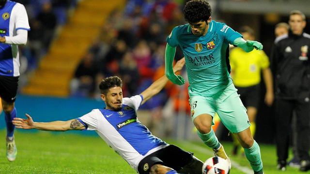 Hercules vs Barcelona