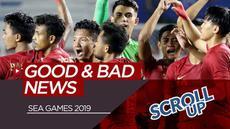 Berita video Scroll Up membahas soal kabar buruk dan baik dari SEA Games 2019. Apa saja yang menarik?