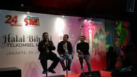 Pemaparan empat pilar Telkomsel dalam mengakselerasi masyarakat Indonesia (Liputan6.com.Agustinus M.Damar)