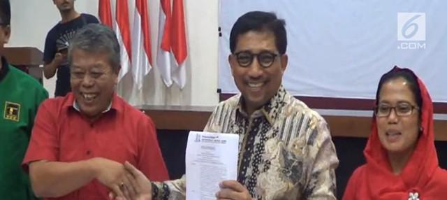 Mantan Kapolda Jatim, Irjen Pol (Purn) Machfud Arifin ditunjuk menjadi ketua tim kampanye Jokowi-Ma'ruf untuk provinsi Jawa Timur.