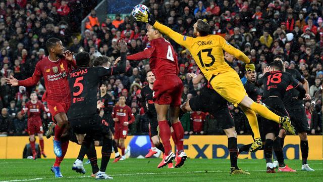 Aksi Jan Oblak Saat Singkirkan Liverpool di Liga Champions