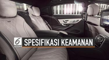 Kemensetneg memilih Mercedes-Benz S600 Guard untuk mobil dinas Presiden Jokowi. Mobil asal Jerman itu dilengkapi dengan teknologi terbaik bagi kepala negara.