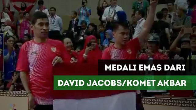 Berita video David Jacobs/Komet Akbar tambah raihan emas Tim Indonesia dari cabang olahraga tenis meja nomor ganda putra TT10.