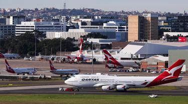 FOTO: Boeing 747 Resmi Dipensiunkan dari Qantas