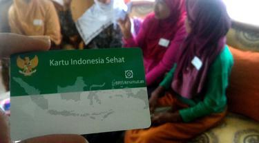 Kartu Indonesia Sehat atau BPJS PBI. (Foto: Liputan6.com/Muhamad Ridlo)
