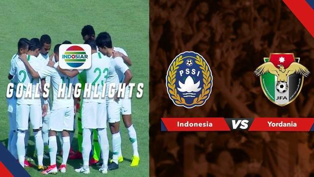 Berita video highlights pertandingan persahabatan antara Yordania melawan Timnas Indonesia yang berakhir dengan skor 4-1, Selasa (11/6/2019).