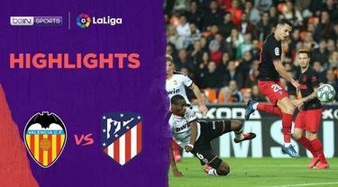 Berita Video Highlights La Liga, Atletico Madrid Ditahan Imbang Valencia 2-2