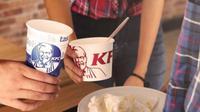 KFC Indonesia luncurkan kampanye 'Budaya Beberes' setelah makan. (dok.Instagram @kfcindonesia/https://www.instagram.com/p/BskoDUsj8G_/Henry