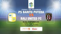 PS Barito Putera vs Bali United FC