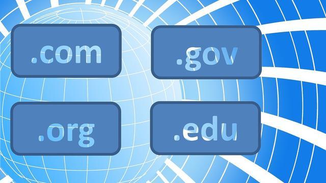 Ilustrasi nama domain internet. Kredit: Tumisu via Pixabay