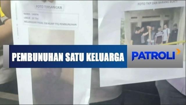 Tersangka diringkus polisi di tempat persembunyiannya di Lampung.