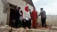 Puti Guntur Soekarno mengunjungi kompleks Ponpes Al Mubarokah (Liputan6.com/ Dian Kurniawan)