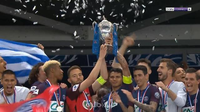 Berita video kemenangan 2-0 atas Les Herbiers antarkan PSG menjadi juara Coupe de France 2018. This video presented by BallBall.