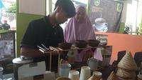Pemkab Bogor menggelar acara Bogor Fest 2019 yang diselenggarakan sejak 4 hingga 7 April 2019 di Stadion Pakansari, Cibinong. (Liputan6.com/Achmad Sudarno)