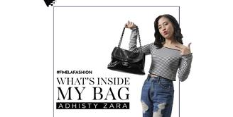 What's In My Bag Adhisty Zara