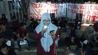 Aksi Tolak Tambang di Aceh. (Liputan6.com/ Rino Abonita)