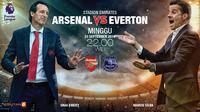 Arsenal vs Everton (Liputan6.com/Abdillah)