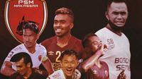 Piala Menpora -  Ilustrasi Perjalanan PSM Makassar Ke Semifinal (Bola.com/Adreanus Titus)