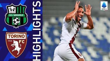 Berita Video, Highlights Pertandingan Sassuolo Vs Torino pada Sabtu (18/9/2021)