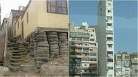 Bangunan Nyeleneh (Sumber: Instagram/civilengineeringtech)