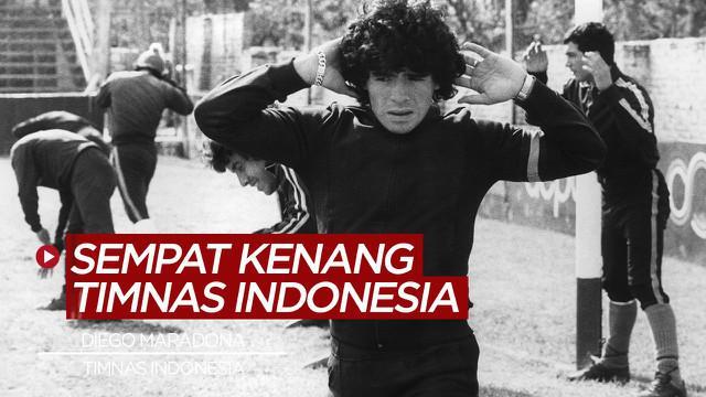 Berita video, Diego Maradona sempat mengenang pertandingan melawan Timnas Indonesia di Piala Dunia U-20