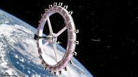 Rancangan hotel luar angkasa pertama. (dok. Voyager Station)