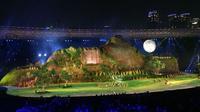 Pembukaan Asian Games (foto: Twitter/@giewahyudi/brilio)