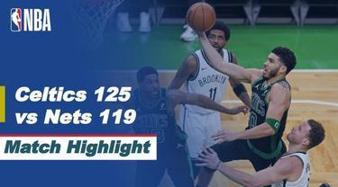 Berita Video, Boston Celtics Vs Brooklyn Nets pada Sabtu (29/5/2021)