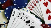 Ilustrasi poker. (AFP/Robert Sullivan)