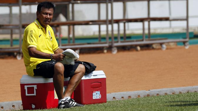 Benny Dollo, pelatih kharismatik yang mengharumkan nama Persita di awal 2000-an. (Yoppy Renato/Liputan6.com)