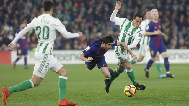 FOTO: Barcelona Pesta 5 Gol di Markas Real Betis